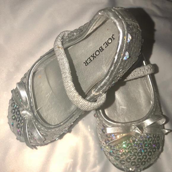 613c37258d91d2 Joe Boxer Other - JOE BOXER Sequined Size 4 baby girl flat shoe